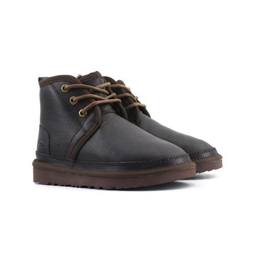 Kids Boot Neumel Leather - Шоколадные