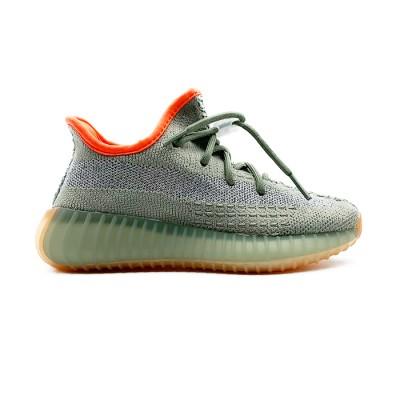 Купить детские кроссовки Adidas Yeezy Boost 350 v2 DESERT SAGE и оценить их качество