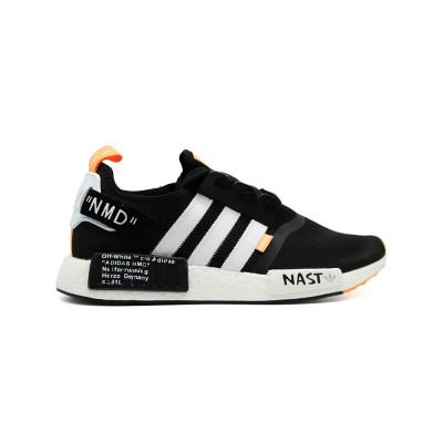 Купить Кроссовки мужские  Adidas NMD x Off White Black из новой коллекции!