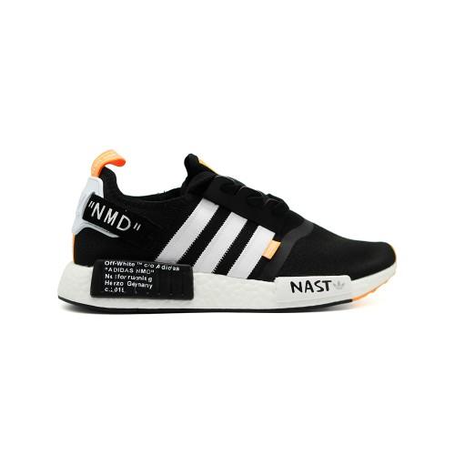 Кроссовки мужские Adidas NMD x Off White Black