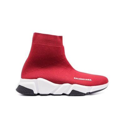 Купить Женские кроссовки Balensiaga Supreme Speed Trainer Red