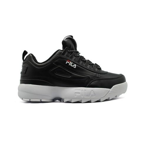 Женские кроссовки FILA Disruptor 2 Black Leather