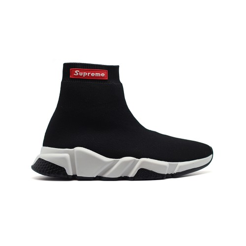 Мужские  кроссовки Balenciaga Supreme Speed Trainer Black