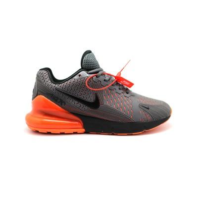 Купить Мужские кроссовки Nike Air Max 270 Flair KPU Grey-Orange за 6290 рублей!