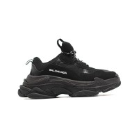 Мужские  кроссовки Balenciaga Triple S Total Black