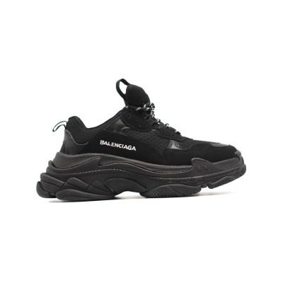 Купить Женские кроссовки Balenciaga Triple S Total Black