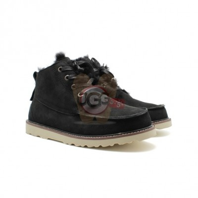 Men Boots Beckham Black