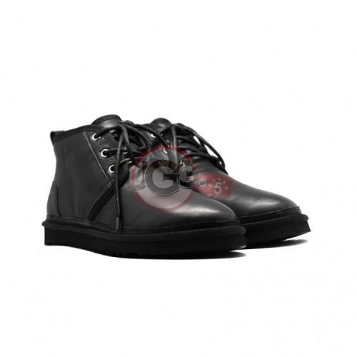 Men Boots Neumel Black Leather