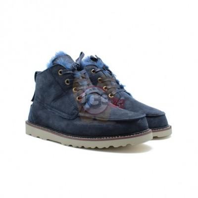 Men Boots Beckham Navy