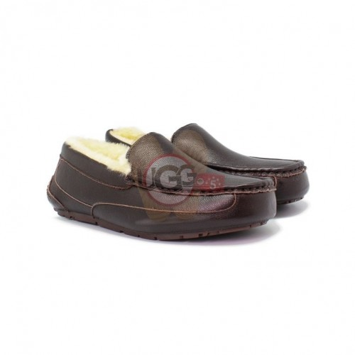 Men's Ascot Chocolate Leather