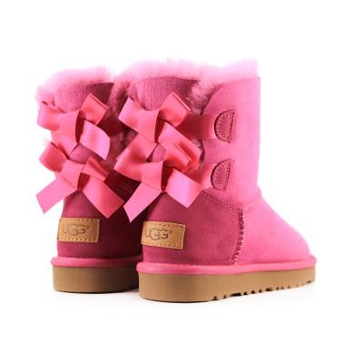 Kids Bailey Bow ll - Непромокаемые Pink